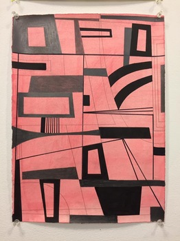 Gary Petersen WORKS ON PAPER acrylic, ink and graphite on paper