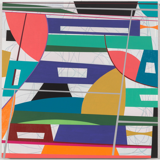 Gary Petersen PAINTINGS 2020-2013 acrylic and ink on wood panel