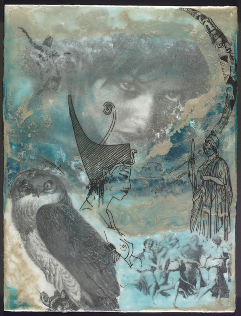 Encaustic Collages Herstory