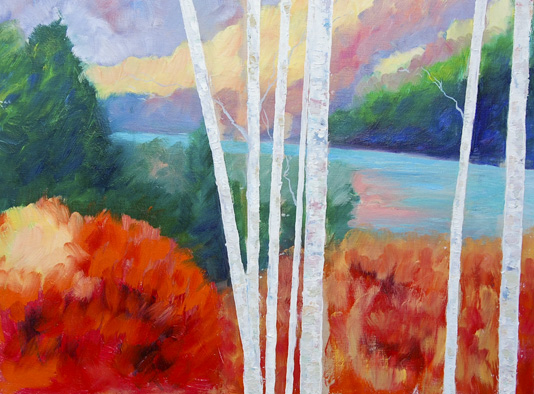 Landscapes Birches