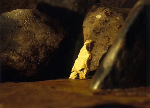 CAVE: An Evocation of the Beginnings of Art (images from the book written by Richard Lewis, Sculpture by Elizabeth Crawford, Photography by George Hirose, Touchstone Center Press 2004)