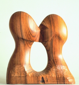 George Megrue Wood carved rose wood