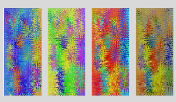 George Megrue Modulated Images inkjet print