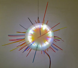 George Kroenert Recent Work Illuminated mixed media sculpture