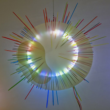 George Kroenert Recent Work Illuminated mixed -media sculpture