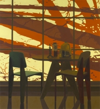 George Rush 2011 Oil on Canvas