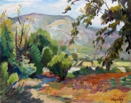 GEORGE TAPLEY (home)           Landscapes oil/panel