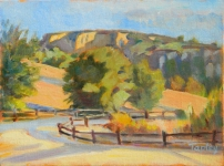 GEORGE TAPLEY (home)          Clark Park & Coyote Hills oil on canvas