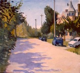 GEORGE TAPLEY (home)          Minnesota Scenes oil on canvas