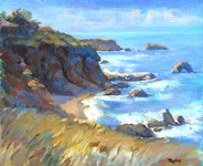 GEORGE TAPLEY (home)          Seascapes and Beach Scenes oil/panel