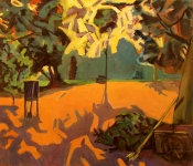 GEORGE TAPLEY (home)          Arboretum oil/canvas