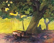 GEORGE TAPLEY (home)          Arboretum oil/panel