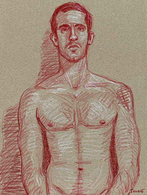 "- ""Erotic Life Drawings/Misc. Erotic Work"" - <i>Warning: Adult Content, please be 18 to view</i> ""Adam - Life Drawing"""
