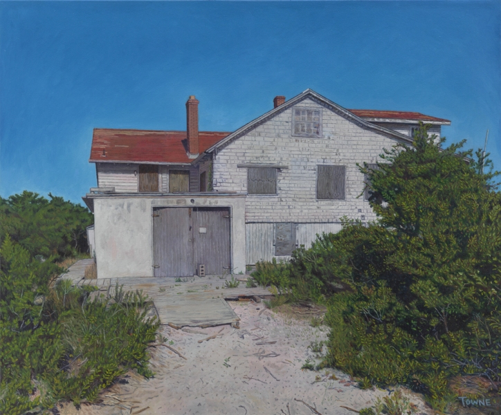 "- Main Artwork / Recent Paintings ""Abandoned Capote House"""