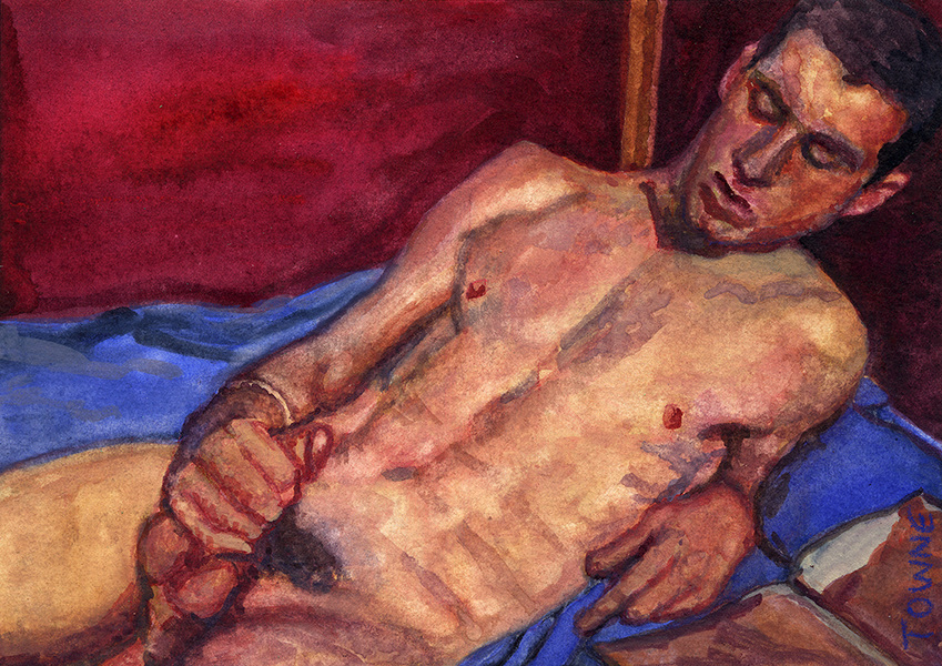 "- ""Erotic Life Drawings/Misc. Erotic Work"" - <i>Warning: Adult Content, please be 18 to view</i> ""Defiant Adam"""