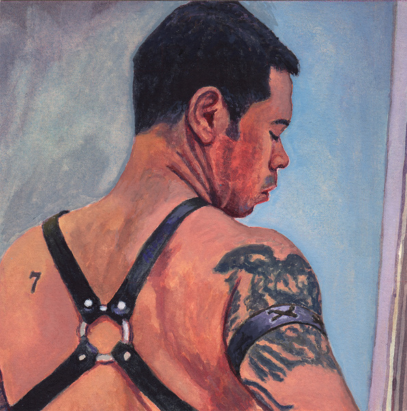 "- ""Erotic Life Drawings/Misc. Erotic Work"" - <i>Warning: Adult Content, please be 18 to view</i> ""Dave / Harness"""