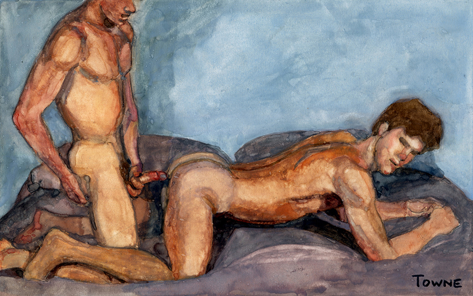 "- ""Erotic Life Drawings/Misc. Erotic Work"" - <i>Warning: Adult Content, please be 18 to view</i> ""Porn Watercolor - Fuck"""