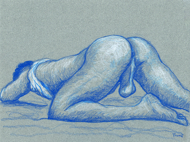 "- ""Erotic Life Drawings/Misc. Erotic Work"" - <i>Warning: Adult Content, please be 18 to view</i> &quot;Sam - Beautiful Butt&quot;"