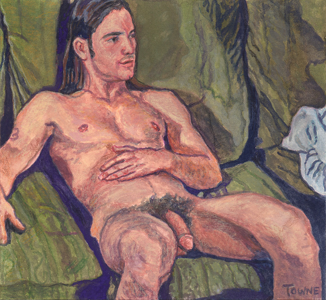 "- ""Erotic Life Drawings/Misc. Erotic Work"" - <i>Warning: Adult Content, please be 18 to view</i> &quot;Joe Dallesandro - Watercolor&quot;"