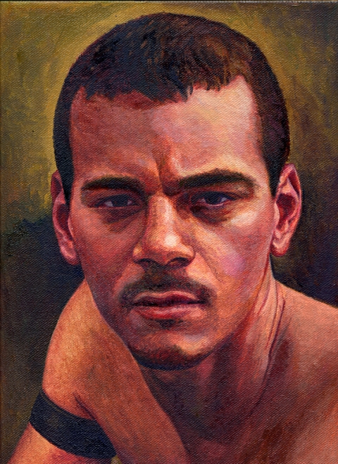 "- Main Artwork / Paintings Page 2 ""Josh - Portrait Study"""