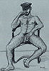 "- ""Erotic Life Drawings/Misc. Erotic Work"" - <i>Warning: Adult Content, please be 18 to view</i> Pencil on Colored Paper"