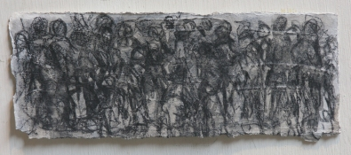 Gilda Pervin Drawings Graphite, gesso, on paper