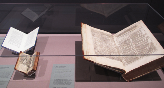 • MUSEUMS + GALLERIES On Eagles' Wings: the King James Bible turns 400