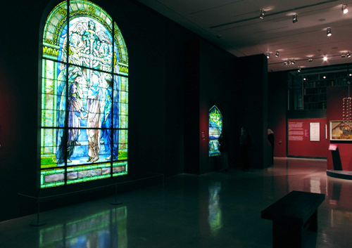 • MUSEUMS + GALLERIES Louis C. Tiffany and the Art of Devotion