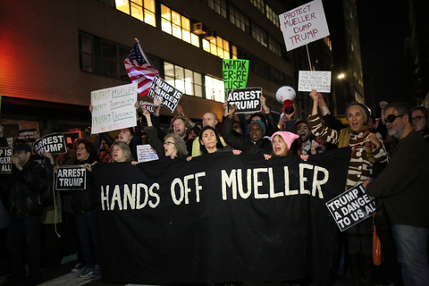 Gina Randazzo Nobody Is Above The Law - Mueller Protection Rapid Response NYC 11/8/18