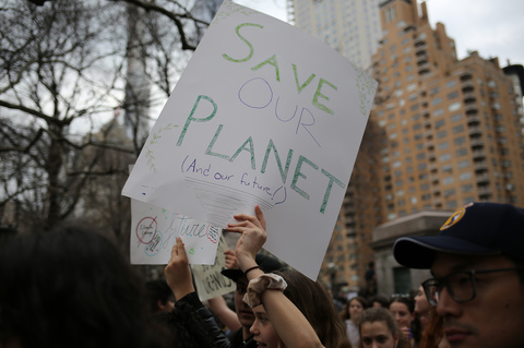 Youth Climate Strike NYC 3/15/19