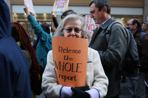 Gina Randazzo Release The Mueller Report NYC 4/4/19