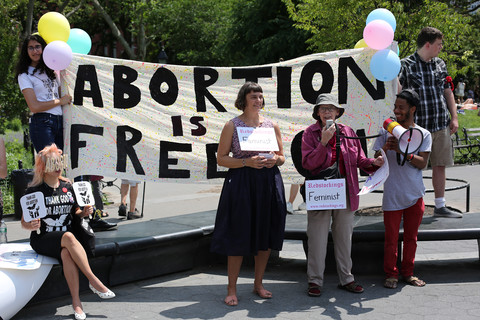 Abortion Is Freedom Speak-out & Sing-out Washington Square 6/22/19
