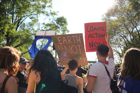 Climate Strike March From Foley Square to Battery Park NYC 9/20/19