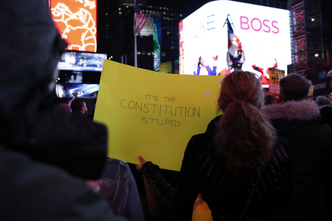 Impeachment Eve March From Times Square to Union Square 12/17/19