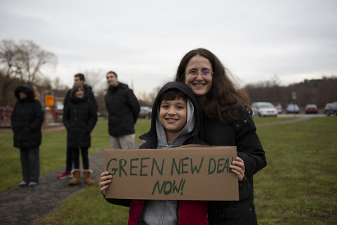 Rivertowns Climate Rally Ardsley Middle School 12/6/19