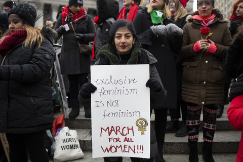 Womens March Foley Square 1/18/20