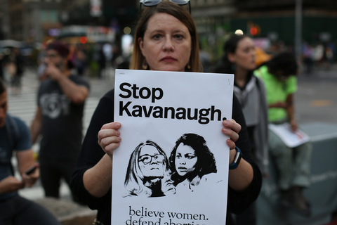 More Kavanaugh Protests