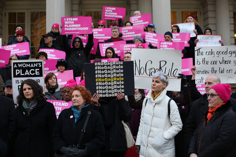 No Gag Rule City Hall Steps 2/25/19