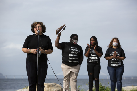 Black Lives Matter Rally Dobbs Ferry, NY 9/13/20