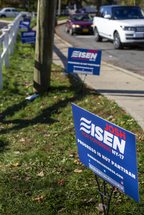 Second Weekend of Early Voting Greenburgh Town Hall 10/31/20