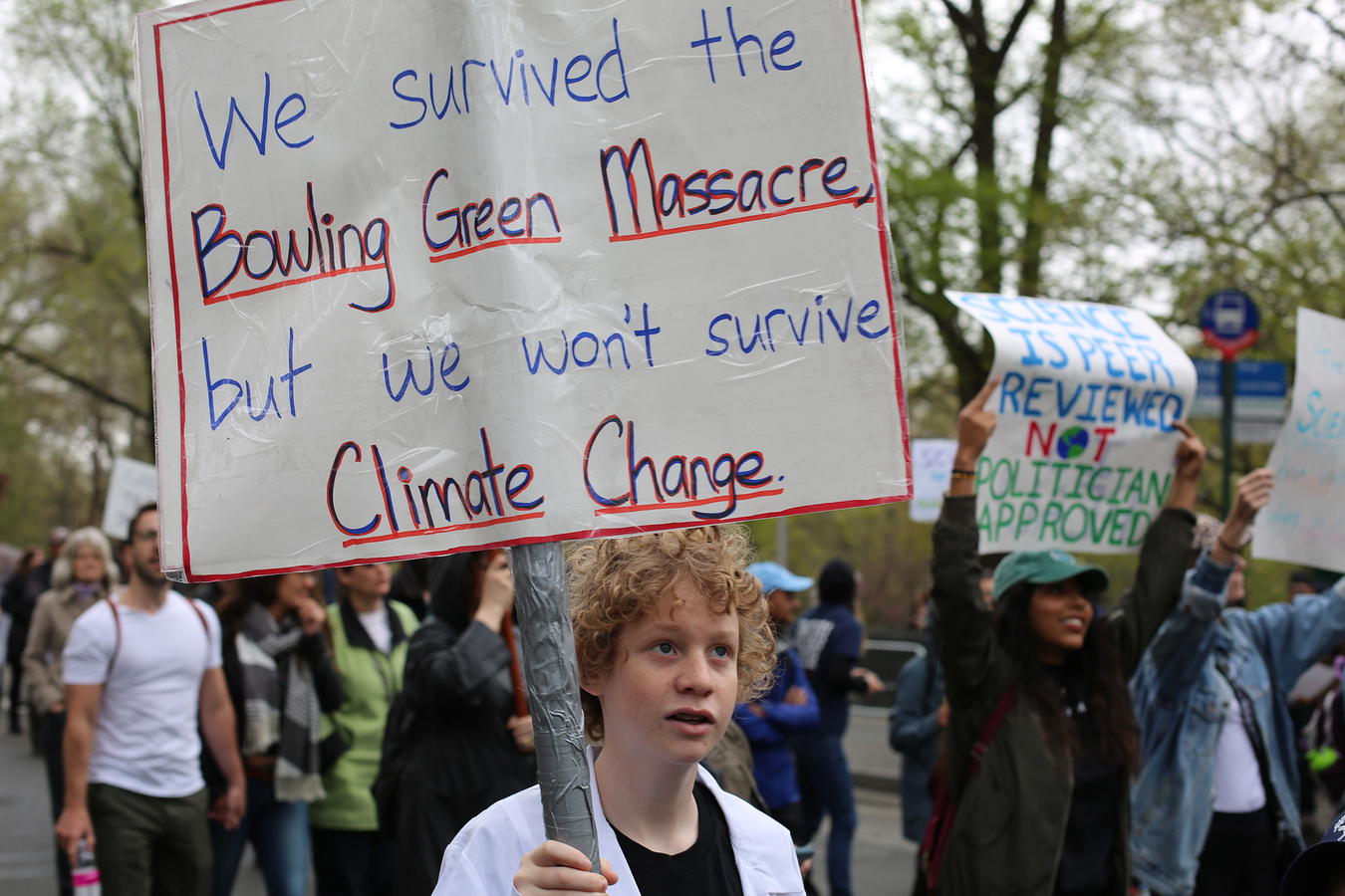 Other Protests  March for Science NYC Earth Day 4/22/17