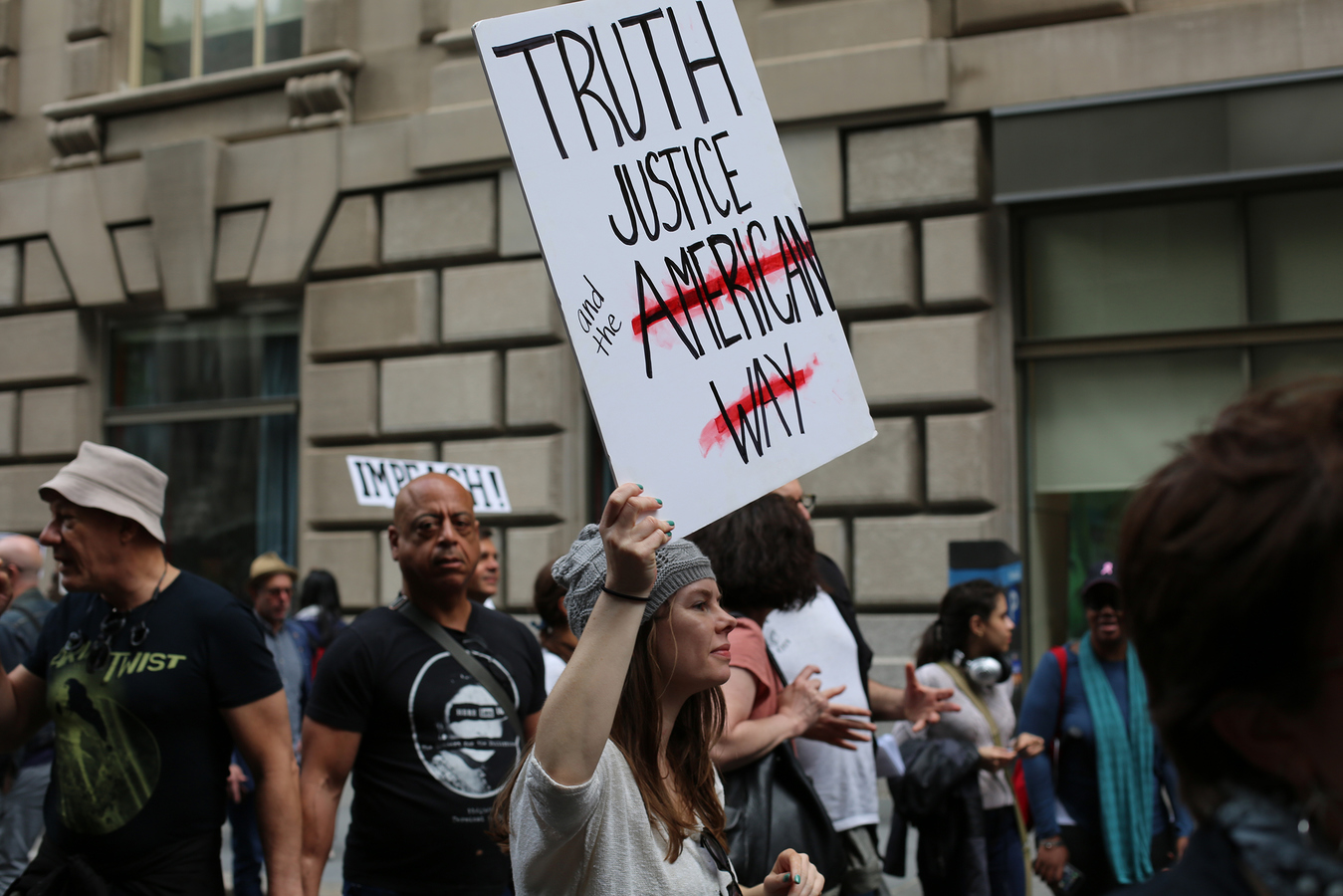 Other Protests March for Truth NYC 6/3/17