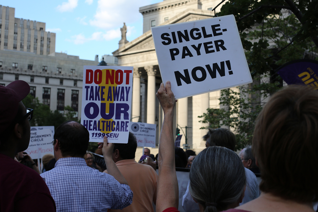 Other Protests  Health Care Vigil NYC 6/28/17