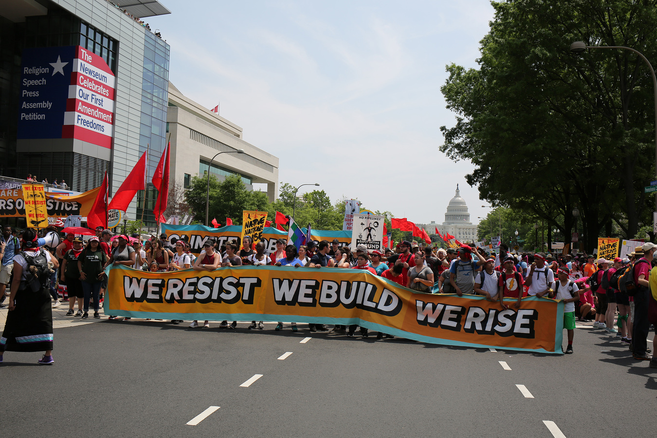 Current Project People's Climate March Washington DC 4/29/17