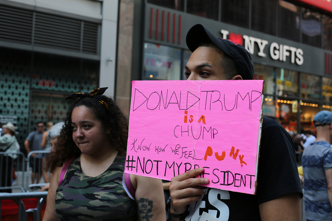 Other Protests Trump/Pence Regime Must Go! NYC 7/15/17