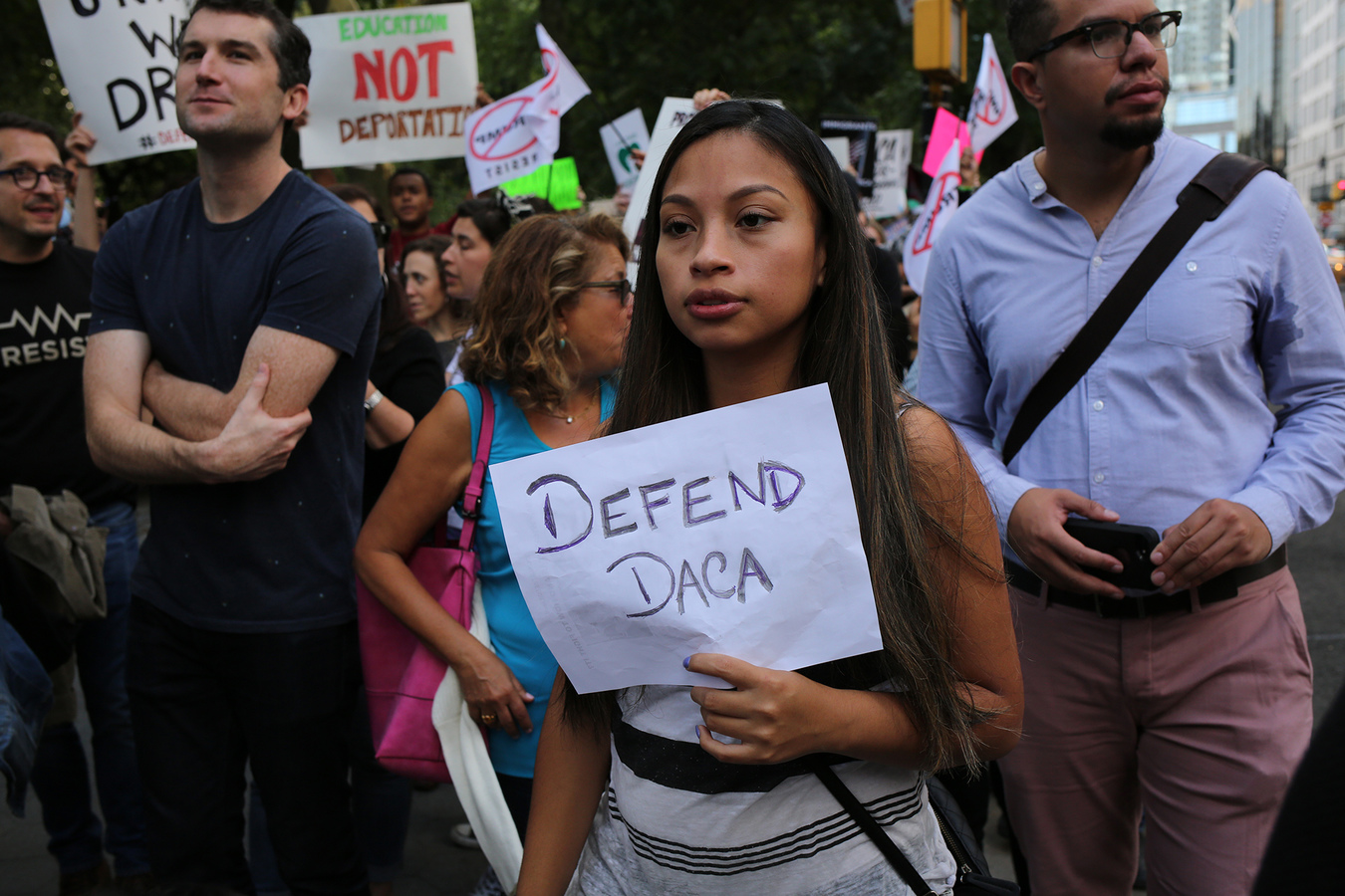 Rally For DACA And All Immigrants NYC 9/9/17