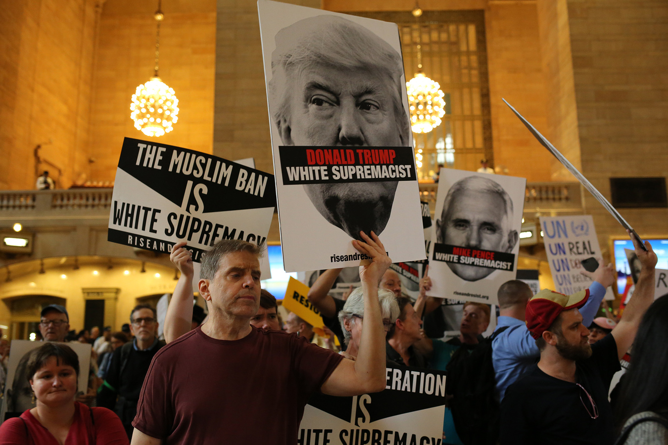 Other Protests  Rise And Resist Against White Supremacy NYC 9/18/17