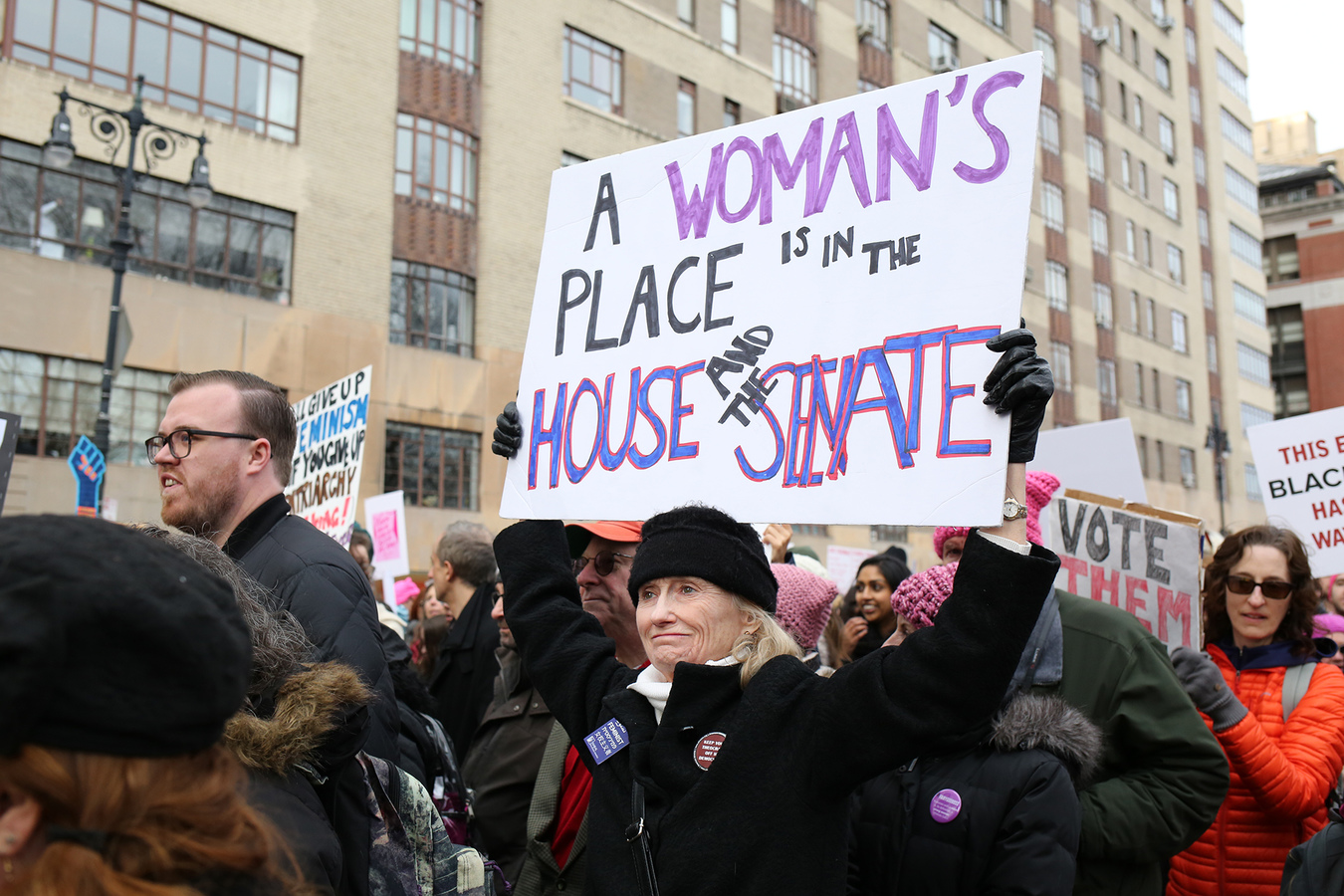 Current Project Women's March NYC 1/20/18