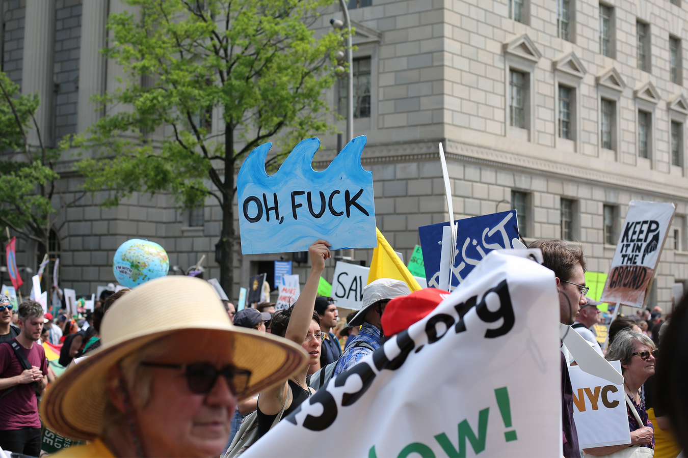 People's Climate March Washington DC 4/29/17