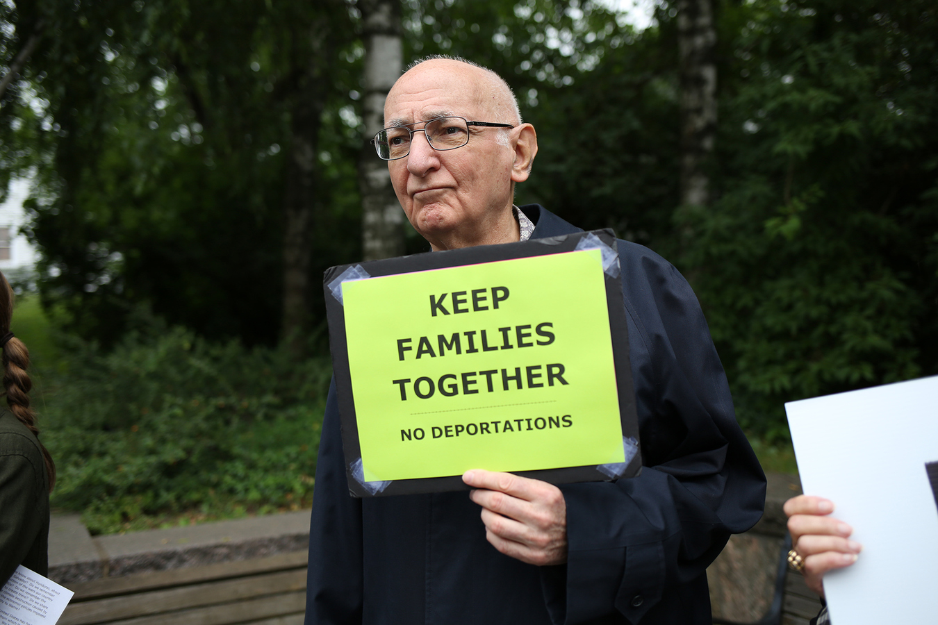 Families Belong Together Concerned Families of Westchester Hastings-on-Hudson, NY 6/23/18